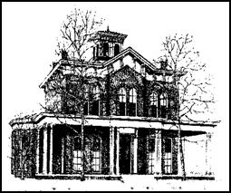 Jane Addams Hull-House Museum - line drawing